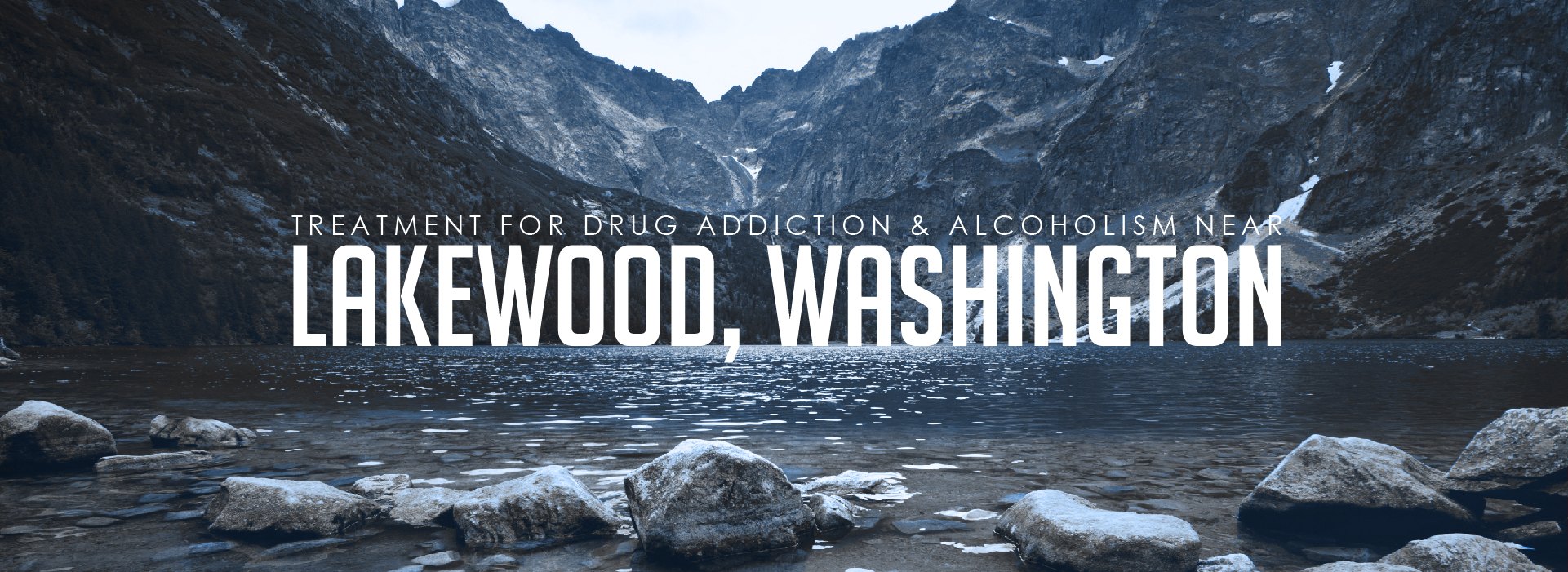 Lakewood, Washington Addiction Header